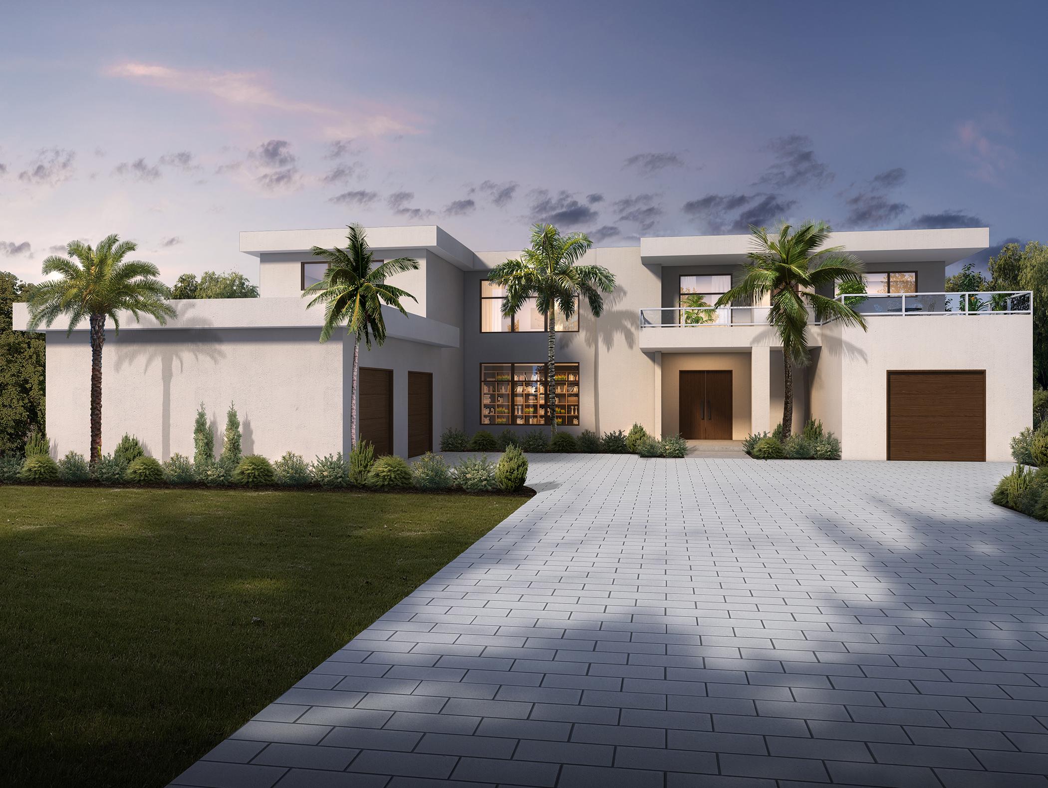 Coastal Contemporary 1 House Plan